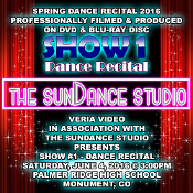 Veria Video In Association With The SunDance Studio in Monument, CO presents the studio's Showcase performance as performed on Saturday, June 4, 2016 at 3:00 p.m.