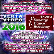 Synergy Dance Academy Recital 2016 - Show 2