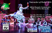 Nutcracker of Parker 2016 on Blu-Ray Disc & DVD