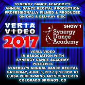 Synergy Dance Academy Recital 2017 - Show 1