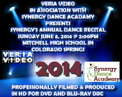 Synergy Dance Academy Recital 2014