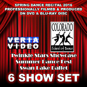 CSD Recital 2016 - 6 Show Set