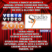 Studio 9 Dance Academy Spring Showcase Recital 2016 - Show 2