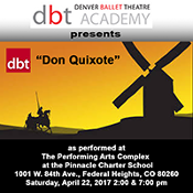 Denver Ballet Theatre Don Quixote 2017