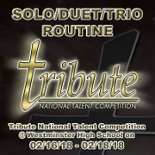 Solo/Duet/Trio Routine Photos & Video at Tribute 2018