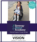 Synergy Dance Academy VISION Benefit 2020